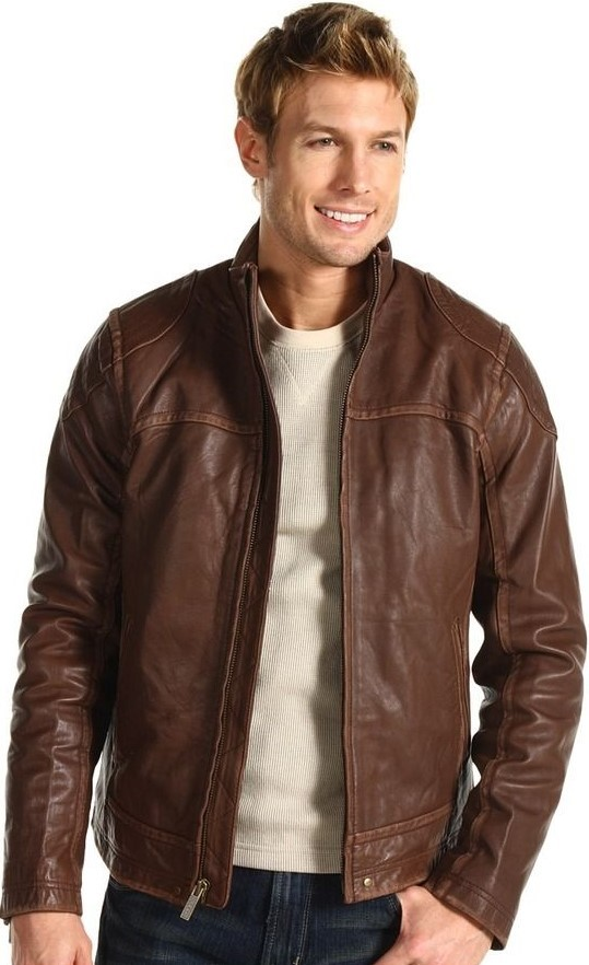 Bombskin Leather Jacket