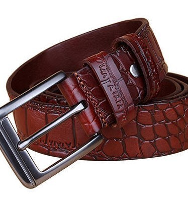 Crocodile Skin Printed Belts