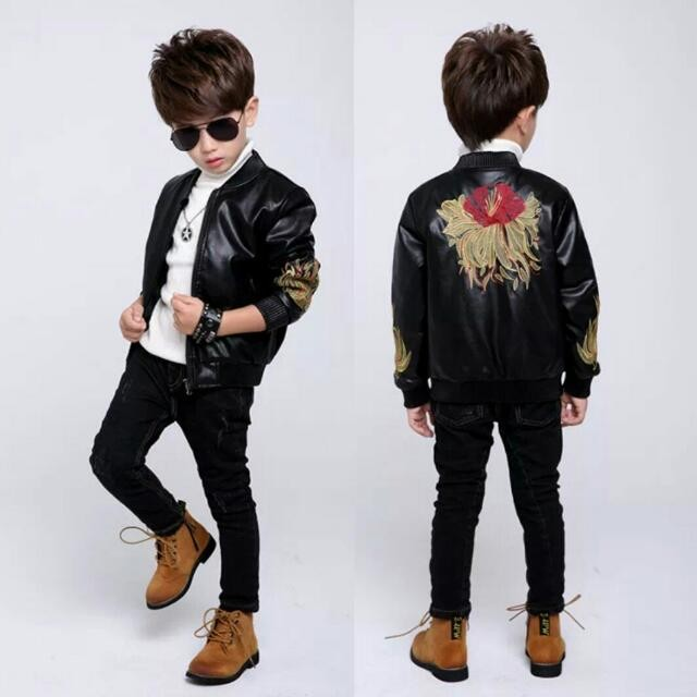 Embroidery boys Jacket