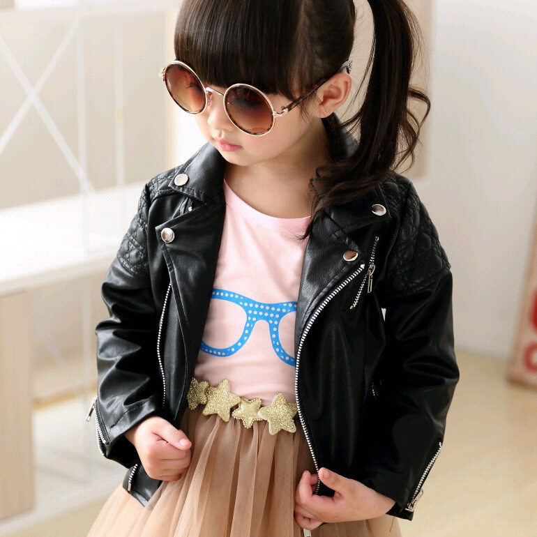 Sweet Faux-Leather-Jacket