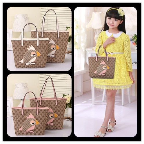 bird printed bag for girls