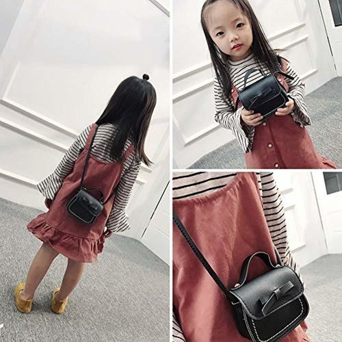 black Shoulder school bag