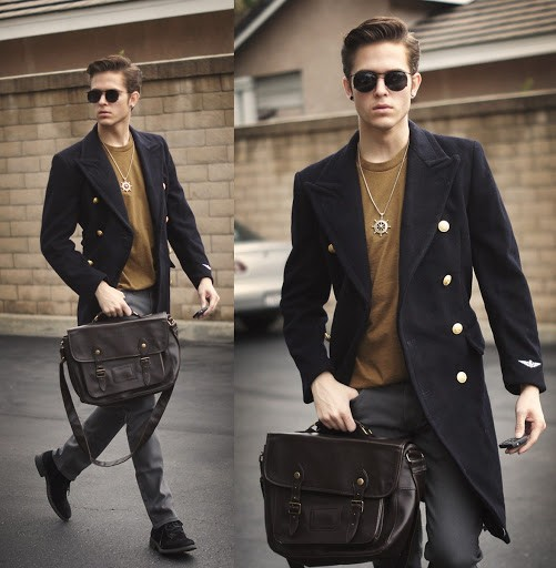 dark brown Stylish Messenger Bags