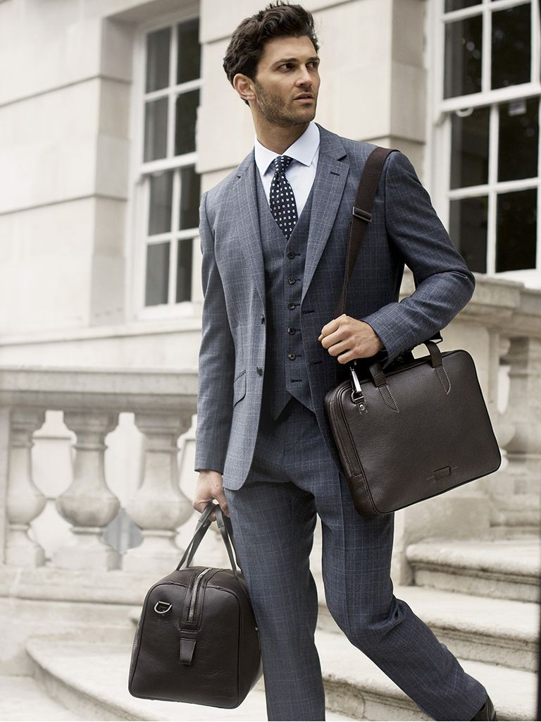 gents shoulder bag and handbag combo
