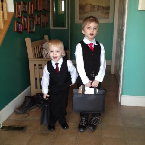 kids briefcase bag combo