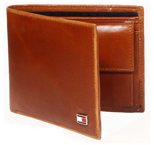 leather money bag brown