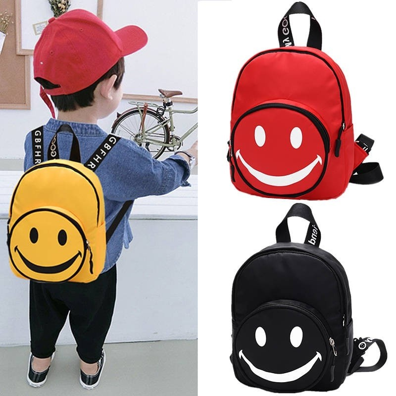 smily children bag